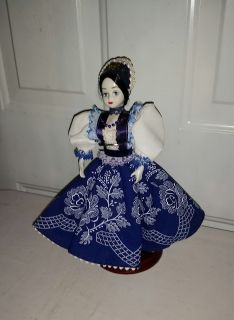 Beautiful doll and great stand. $8