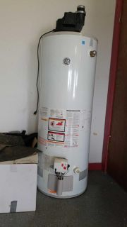 GE 50 Gallon forced air gas water heater