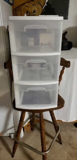 Sterlight 3 drawer Container