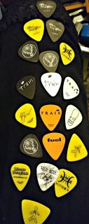 Famous Band Guitar Pics