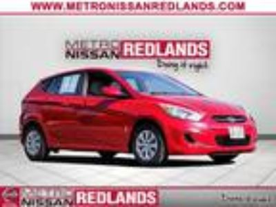 Used 2017 Hyundai Accent Boston Red Metallic, 42.6K miles