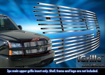Purchase *NEW* Billet Grille 304 Stainless Steel 2003-05 Chevy Silverado 1500/ 03-04 2500 motorcycle in Ontario, California, United States