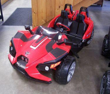 2018 Peg Perego 12V Slingshot Electric Golf Carts Center Conway, NH