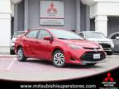 Used 2017 Toyota Corolla RED, 44.8K miles