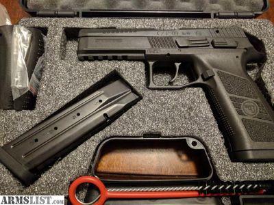 For Sale: CZ P-09 19+1 9mm