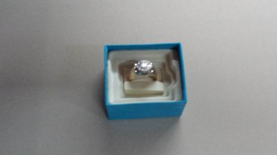 1 cw cluster diamond ring