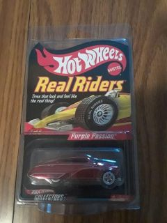 Hot Wheels Real Rider's Purple Passion