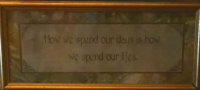 !!AWESOME WALL DECOR...GREAT WORDS!!!