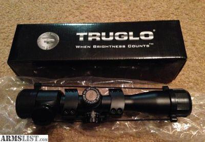 For Sale: TruGlo Tactical Scope w 1 piece mount