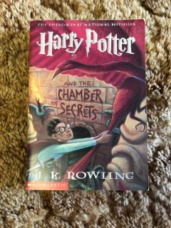 Harry Potter and the chamber of secrets softcover