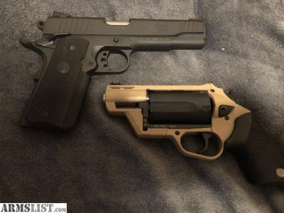 For Sale: Taurus judge and 1911