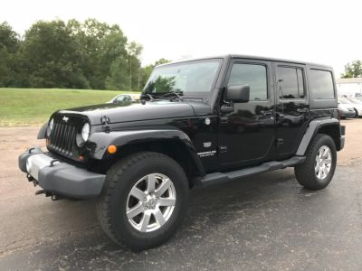 2011 Jeep Wrangler Unlimited 70th Anniversary (Black)