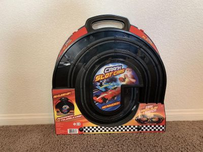 $55 Brand New Never Opened Portable Race Car Set!