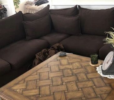3piece sectional with hide a bed