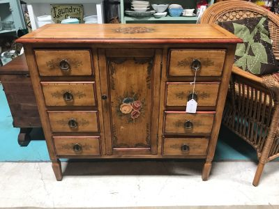 Beautiful Console Hall Table with Storage @ Brass Bear 2652 Valleydale Rd Birmingham--Hoover area AL 35244