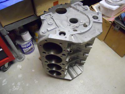 Chevy Aluminum 555 18* engine