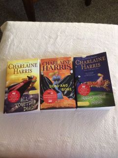 Book trio by Charlaine Harris