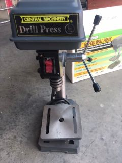 5 speed Bench Drill Press