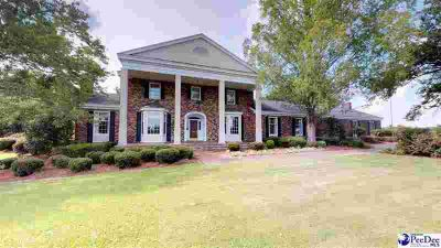 6419 Francis Marion Rd Effingham Four BR, Grand home sits on 31