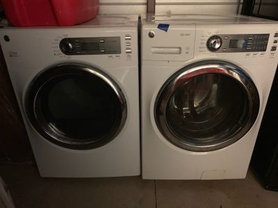 GE Front Load Washer and Dryer