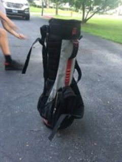 Tiger Woods youth golf bag