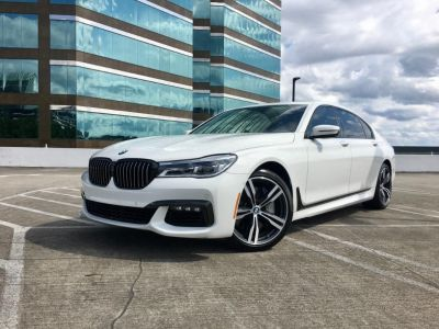 2017 BMW 7-Series 750i M Sport (White)