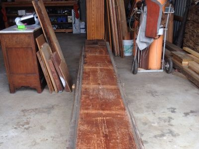 Antique Pine Plank Floor Boards