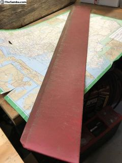 Sliding door track cover Red