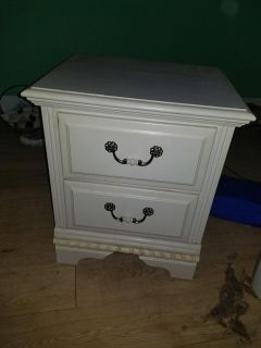 Night stand good shape was my daughters 15.00