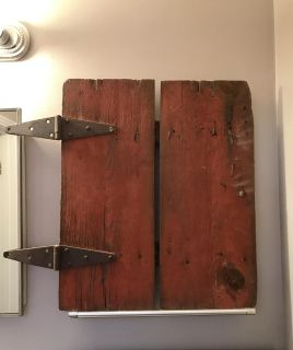 GORGEOUS Barn Door. Must see pic of opposite side also!!!