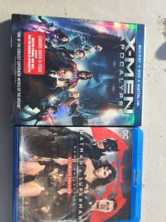 2 Blue-Ray - X-MEN & Batman vs Superman