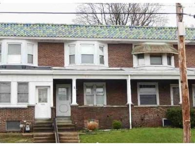3 Bed 1 Bath Foreclosure Property in Reading, PA 19606 - Perkiomen Ave