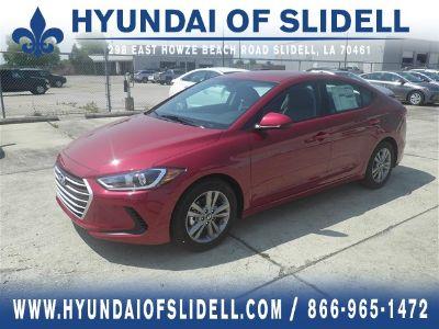 2018 Hyundai Elantra SEL (Scarlet Red Pearl)