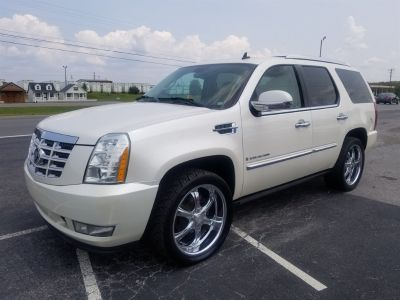 2007 Cadillac Escalade Base (White)