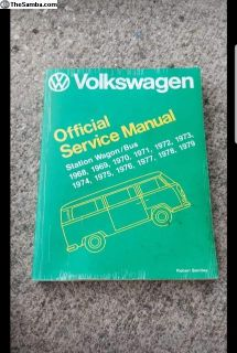 Bay window Bentley service manual