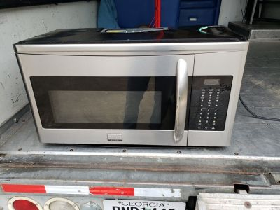 Frigidaire Over The Range Microwave!