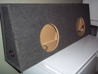 Truck Subwoofer Box for 2 10s