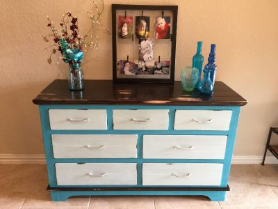 ** See Additional Pics in the Comment Section ** Refurbished Dresser