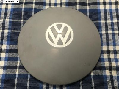 VW Bus OG commercial VW hubcap gray #4