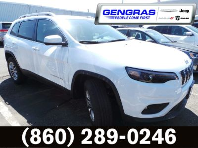 2019 Jeep Cherokee LATITUDE PLUS 4X4 (Bright White Clearcoat)