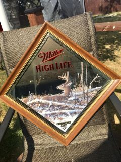 Four Signed Scott Zoelick Miller High Life Mirrors