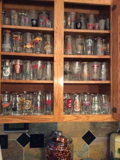 Bar Glasses and Starbucks Cups