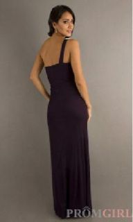 $100 One Shoulder Evening Gown (prom dress) Royal Blue XS