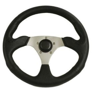 "Buy Rampage Polaris Ranger & RZR 3 Spoke 14"" Steering Wheel with Polished Adapter motorcycle in Buena Park, California, US, for US $79.99"