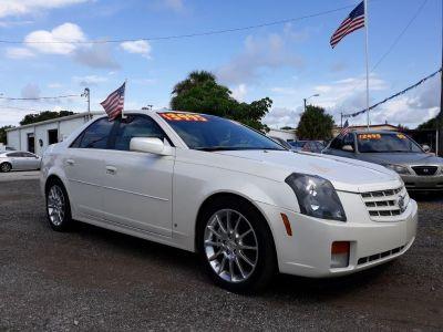 2007 Cadillac CTS Base (White)