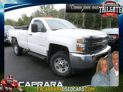 2016 Chevrolet Silverado 2500HD Work Truck (Summit White)