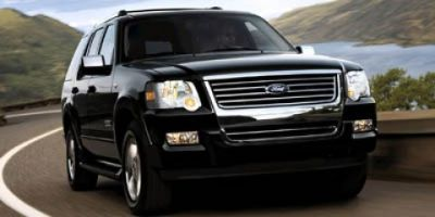 2007 Ford Explorer Limited (White)