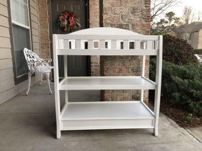 Sturdy Wooden Baby Changing Table