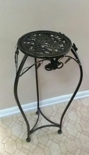 WROUGHT IRON/ PLANT STAND.......EXCELLENT CONDITION