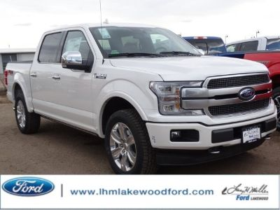 2018 Ford F-150 (WHITE PLATINUM METALLIC TC)